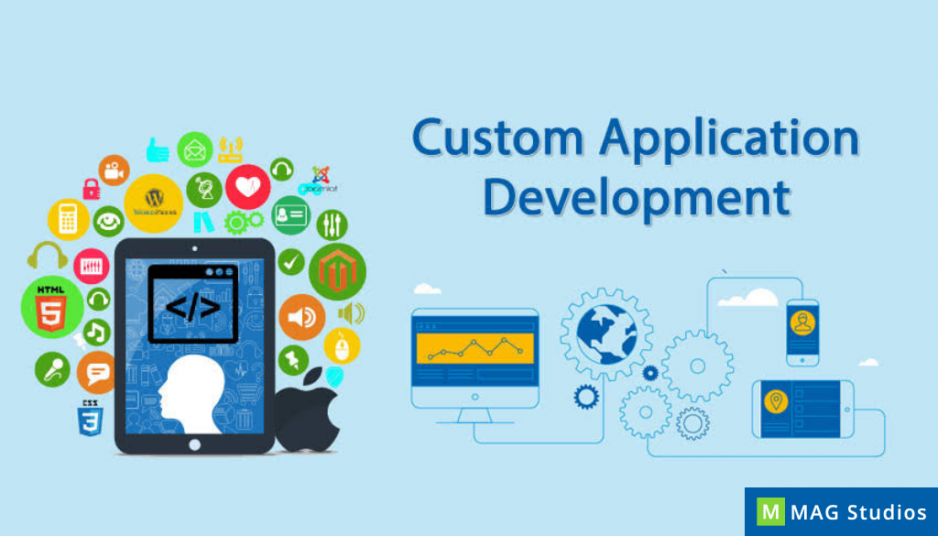 Are wireframes and process flowcharts important for a successful custom application development project?
